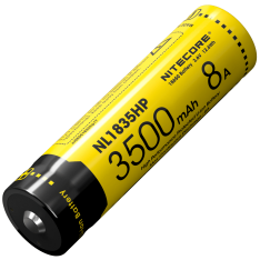 Аккумулятор 18650 Nitecore NL1835HP (3500mAh, 8A), защищенный. Акция! Скидка 15%