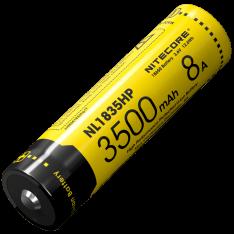 Аккумулятор 18650 Nitecore NL1835HP (3500mAh, 8A), защищенный