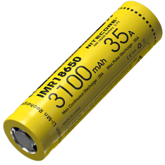 Аккумулятор Nitecore IMR18650 (3100mAh, 35A)