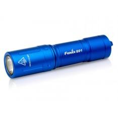 Фонарь Fenix E01 V2.0 синий