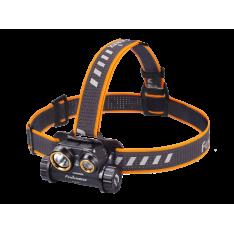 Налобный фонарь Fenix HM65R + Аккумулятор 18650 3500 mAh Fenix ARB-L18, usb-кабель