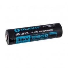 Аккумулятор 18650 Li-Ion Olight 3.6V, 3500mAh, HDC (10A), защищенный