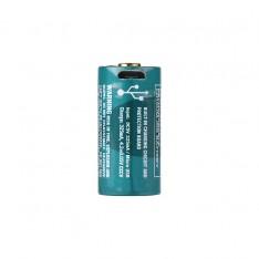 Аккумулятор RCR123 Li-Ion Olight 3.7V (650mAh), защищенный, с USB-портом