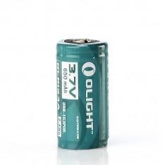 Аккумулятор Olight RCR123, 16340 650 mAh, защищенный