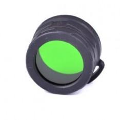 Диффузор-фильтр для фонарей Nitecore NFG34 (34mm), зеленый
