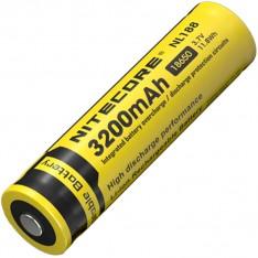 Аккумулятор Li-Ion 18650 Nitecore 3.7V (3200mAh), защищенный