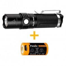 Фонарь Fenix PD25 + аккумулятор Fenix 700 mAh с USB портом