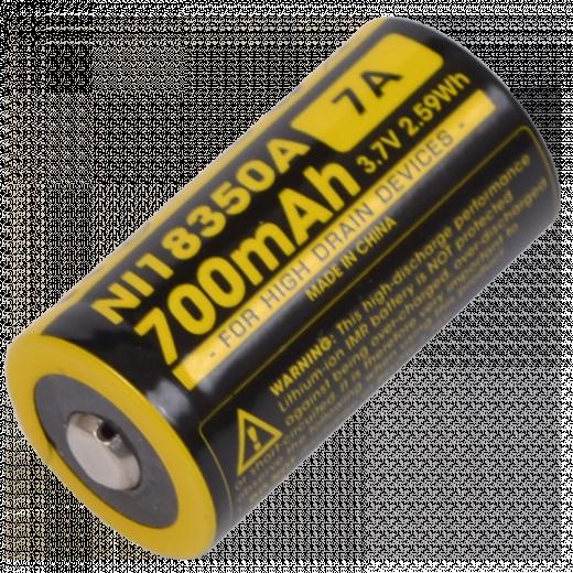Аккумулятор IMR18350 (700mAh) Nitecore NL81350A