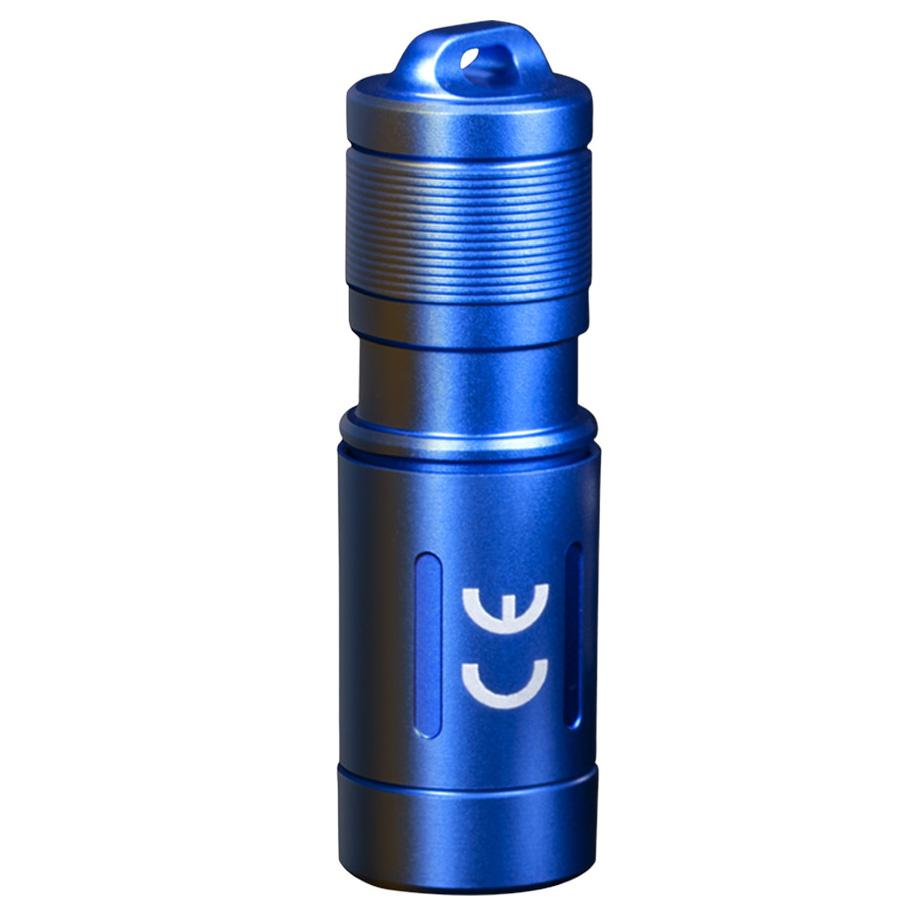 Ліхтар ручний Fenix E02R синій