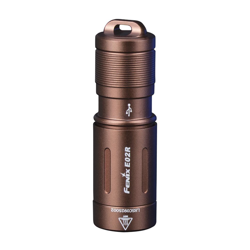 Ліхтар ручний Fenix E02R бронзовий