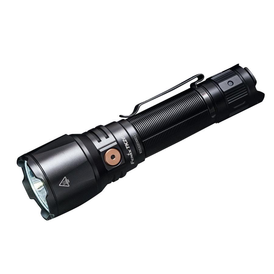 Фонарь Fenix TK26R + аккумулятор Fenix ARB-L18-3500, кабель USB