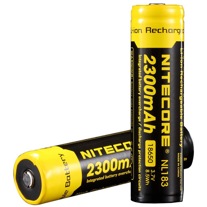 Аккумулятор Li-Ion 18650 Nitecore 3.7V (2300mAh), защищенный