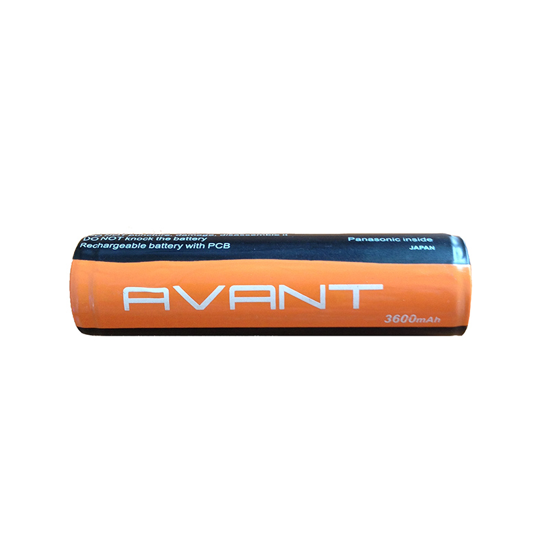 Аккумулятор 18650 3600 mAh AVANT(Panasonic), защищенный