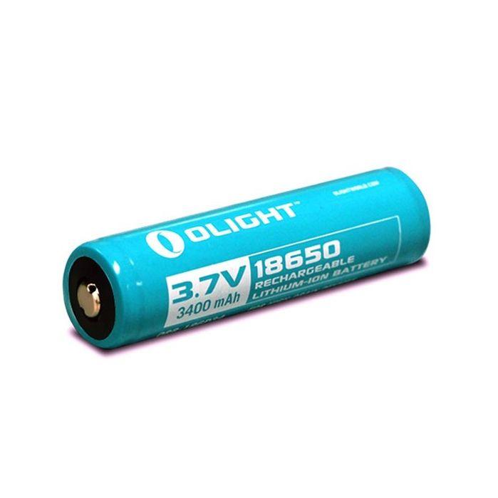 Аккумулятор 18650 Li-Ion Olight 3.7V (3400mAh), с кейсом, защищенный