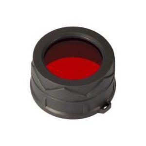 Диффузор-фильтр для фонарей Nitecore NFR34 (34mm), красный